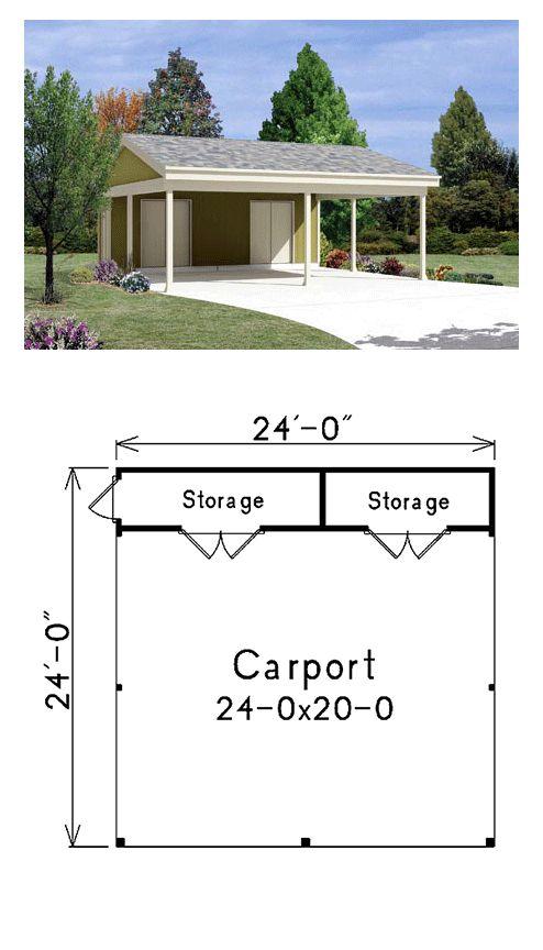 Best 25 two car garage ideas on pinterest for Double garage plans