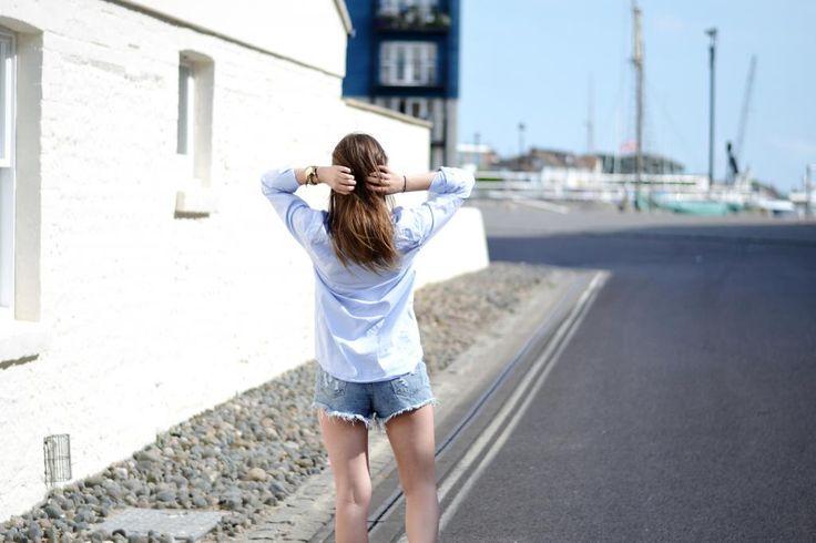 #summer #normcore #minimal #denim #itslilylocket