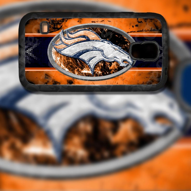 Denver Broncos Horse Design on Samsung Galaxy S5 Black Rubber Silicone Case by EastCoastDyeSub on Etsy https://www.etsy.com/listing/196031954/denver-broncos-horse-design-on-samsung