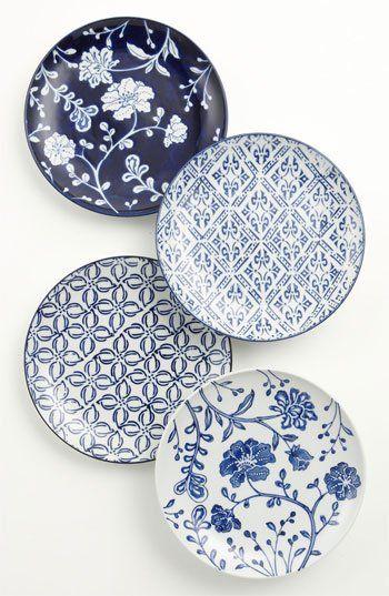 Mixed Pattern Dessert Plates (Set of 4) | Nordstrom