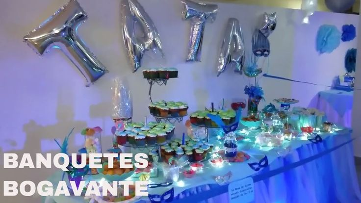 Quince años  Fiesta Antifaces - Banquetes Bogavante