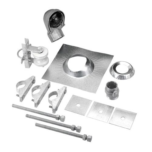 Electrical Service Mast Replacement Cost Electrical: Service Entrance Mast Kit