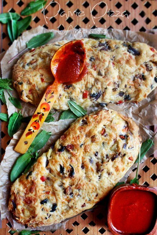 Paine Pizza~Pizza Bread