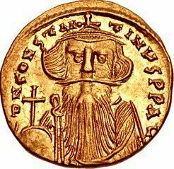Happy 1386th Birthday to Constans II, born to Constantine III and Gregoria on the 7th of November in 630