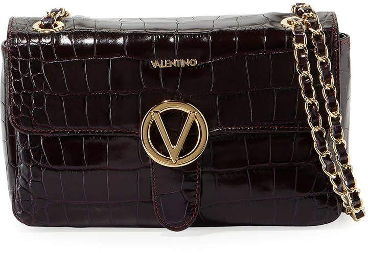 Valentino By Mario Valentino Antoinette Cocco Leather Shoulder Bag Shoulder Bag Bags Leather Shoulder Bag