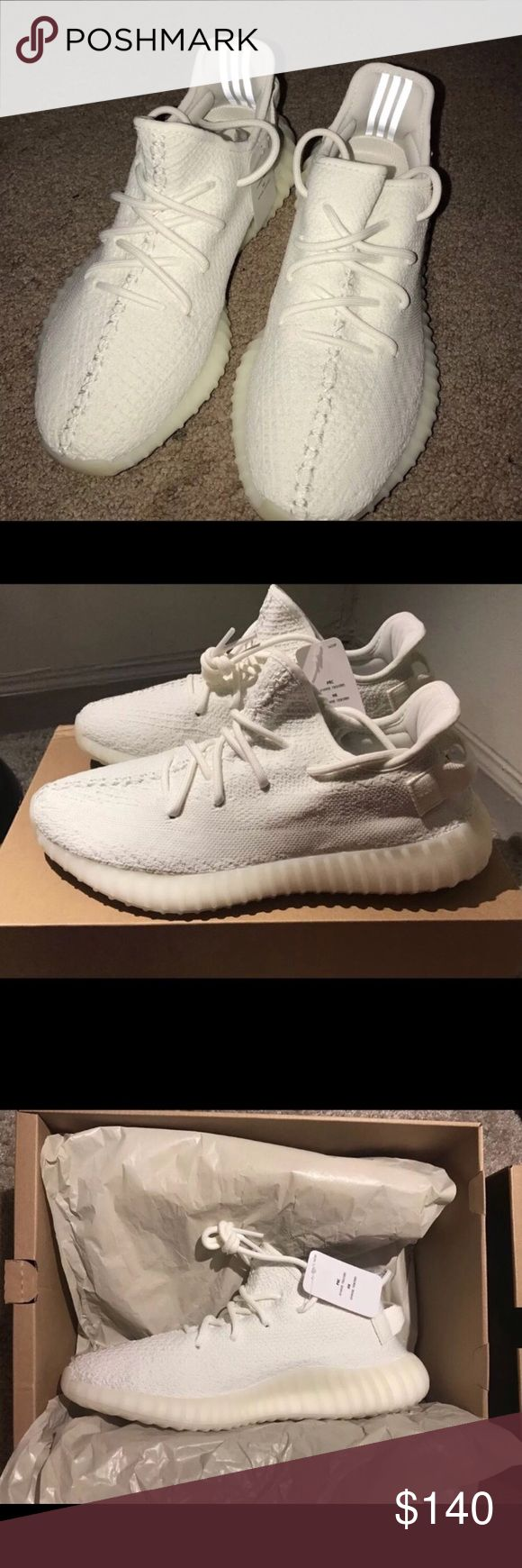 Yeezy Boost 360 V2 Cream Serious Buyers Only. Worn once. Christmas limited time special. Payments accepted only from paypal and venmo. Contact me at (339) 444-4527 Yeezy Shoes Sneakers