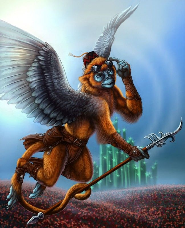 Xiao/ Hsigo- Chinese myth: they are flying monkeys, like the ones from wizard of oz. they lived on the mountain named mount. Ewenext. They were very noisy and liked throwing rocks at people and each other.