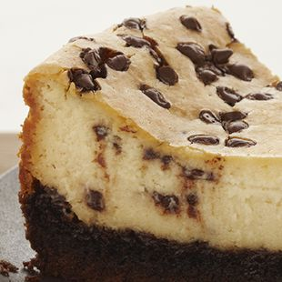 Turn your cheesecake into a chocolate indulgence with this Chocolate Chip Cheesecake recipe. Made with Duncan Hines Devil's Food Cake Mix, it's so devilishly rich, you could say it's sinfully good.