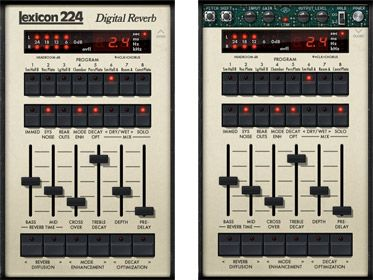 Lexicon® 224 Digital Reverb Plug-In -     The World's Finest Emulation of the Classic Lexicon Reverb that Started it All. -     From the moment it was unleashed on the audio industry in 1978, the original Lexicon 224 Digital Reverb — with its tactile, slider-based controller and famously lush reverb tail — almost single-handedly defined the sound of an entire era.