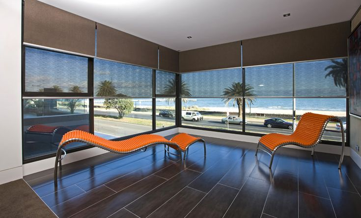 Dual Roller Blinds showing day and night blinds. #werribeeblinds #hollandblinds #rollerblinds #blinds #rollershades