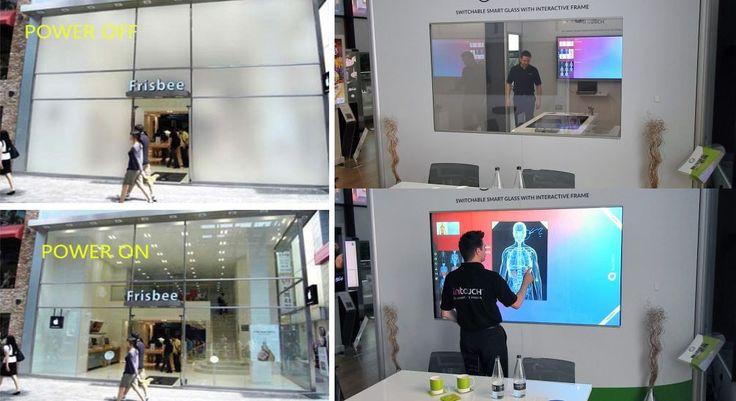 Vidro inteligente muda aparência em segundos para opaco, transparente ou tela interativa - Stylo Urbano #tecnologia #inovação #vidros