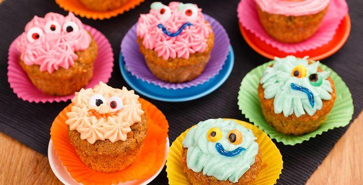 Halloween-muffinit