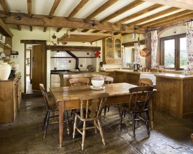 Gallery For Rustic Farmhouse Kitchen Ideas