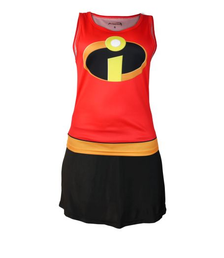 Mrs Incredible Inspired Running Costume