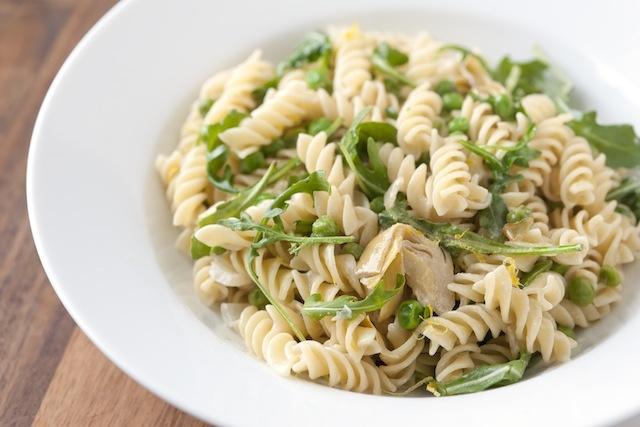 Lemony Artichoke and Pea Pasta: Artichoke Pasta, Lemony Artichoke, Pea Pasta, Pasta Recipes, Artichokes, Lemony Pea, Pasta Dishes, Food