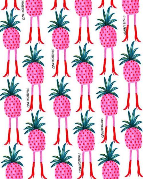 Leggy Pineapples.