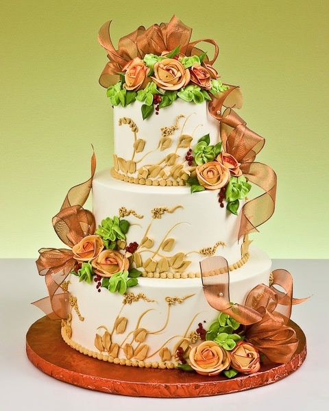1000+ Images About Fall Wedding Cakes On Pinterest
