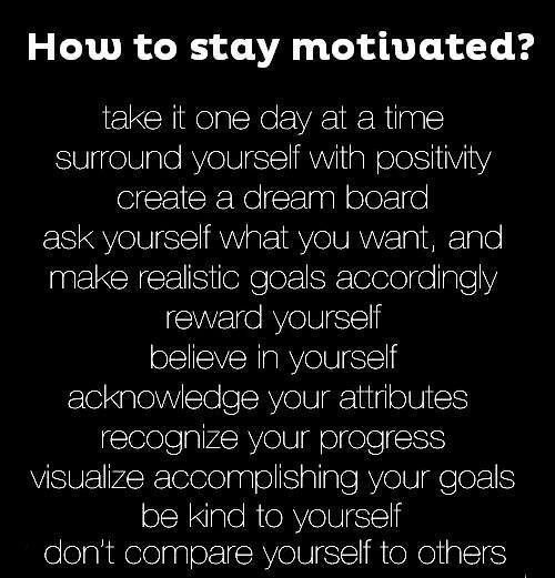 This is GOOD! Read daily if that's what it takes, but stay motivated!