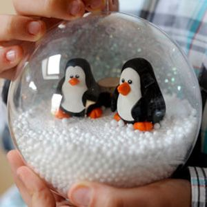 Créer une boule de Noël