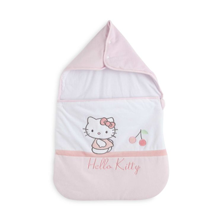 nid dange velours hello kitty blancrose bb fille