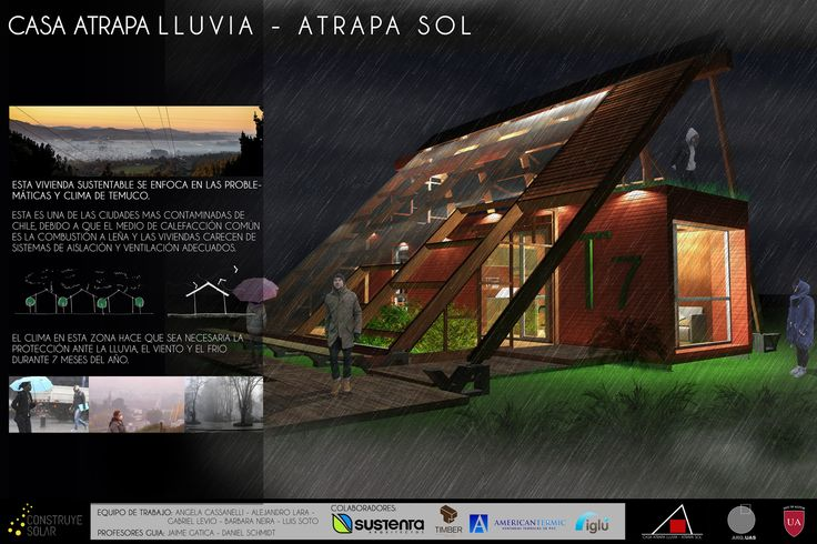 Galería - Construye Solar: Casa Atrapa Lluvia - Atrapa Sol, vivienda sustentable en una ciudad contaminada - 15