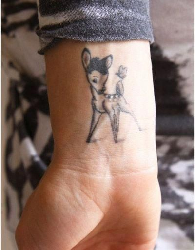small wrist tattoo with meaning #smallwristtattoo