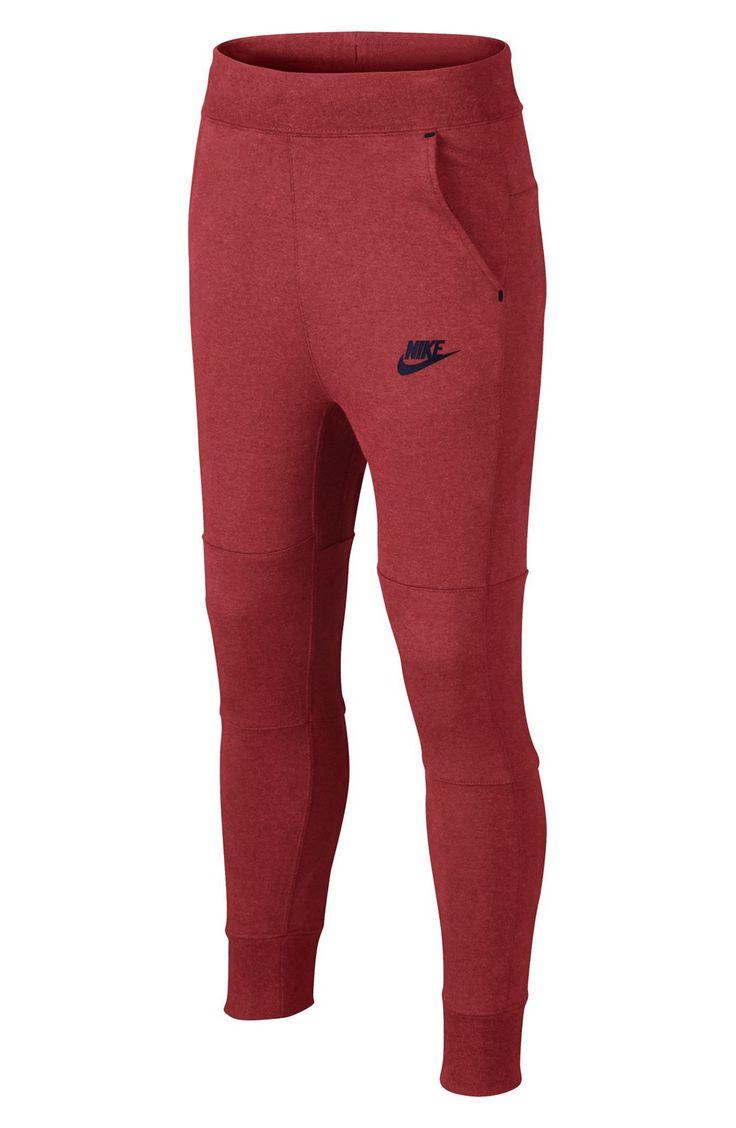 Red Nike Tech Fleece Pants April 2017