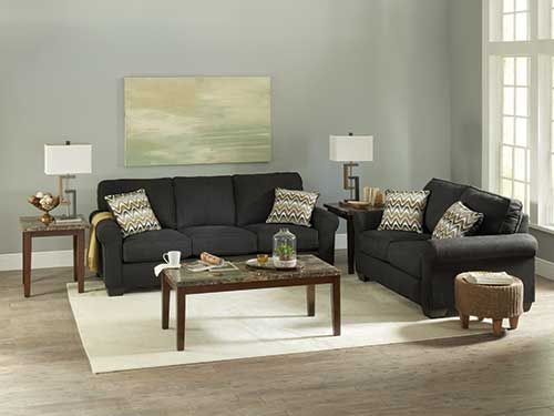 At Rent A Center Clean Lines Plush Cushions And Soft Upholstery Give The