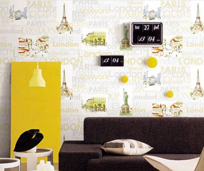 Jasmin 2020 Eyfel Kulesi Duvar Kağıdı 16,5 m2 Stok Kodu: 1048  Havale Fiyatı: 145,14 TL