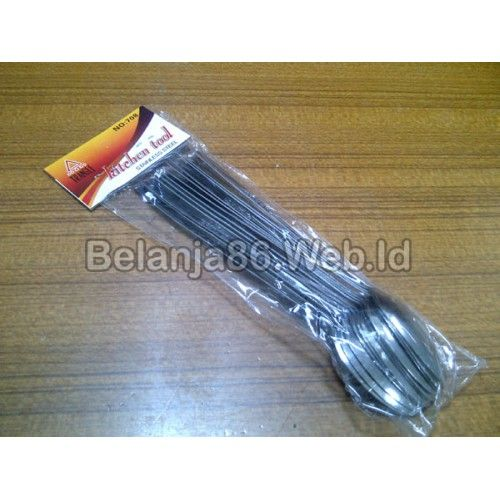 12 pcs Tea Spoon / Sendok Teh Gagang Panjang Tragle (Parfait Spoon)