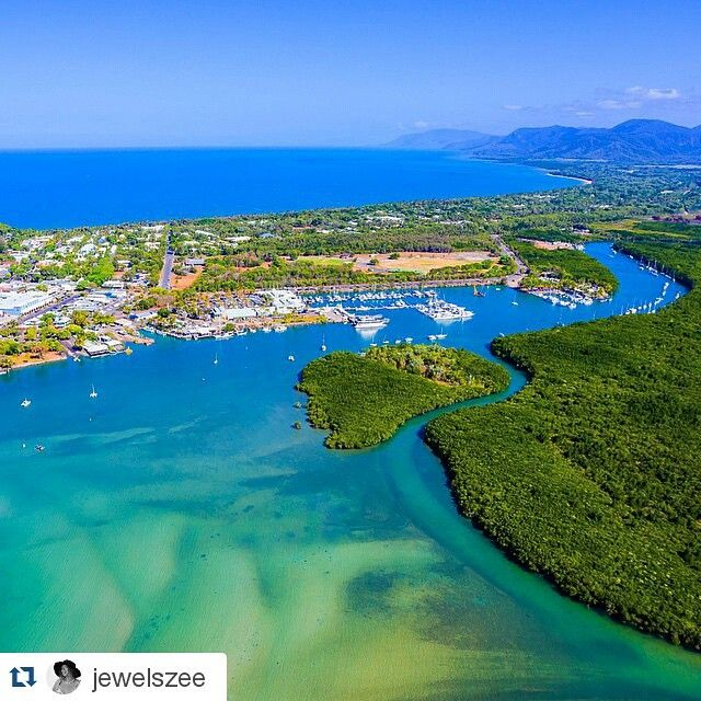 Looking down on paradise! www.thenewport.com.au for Port Douglas hotel accommodation. #portdouglas Pic by jewelszee