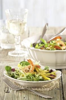 Zeleninová příloha a salát