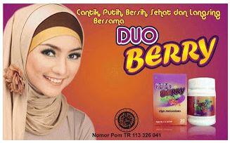 Duo Berry adalah suplemen pemutih badan dan juga pemutih tubuh yang mengandung ekstrak campuran buah acaiberry dan gojiberry yang dikenal kaya akan anti oksidan dan jutaan manfaat lainnya untuk kulit tubuh kunjungi kami di http://lianytomodachishop.blogspot.com/2014/08/duo-berry-suplemen-pemutih-dan.html