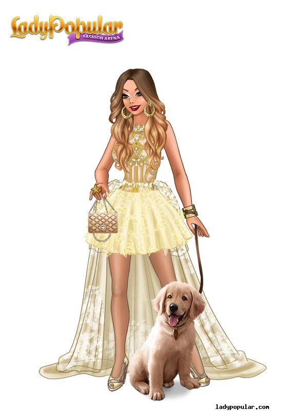 lady ClaudiaM25 + pet International version