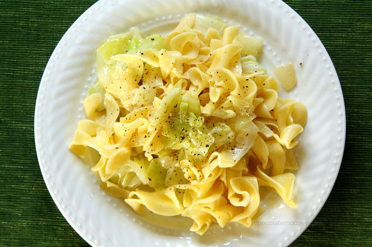 Haluski (Cabbage and Noodles)