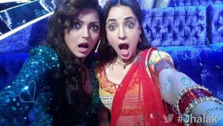 Sanaya Irani and Drashti Dhami #FriendshipGoals