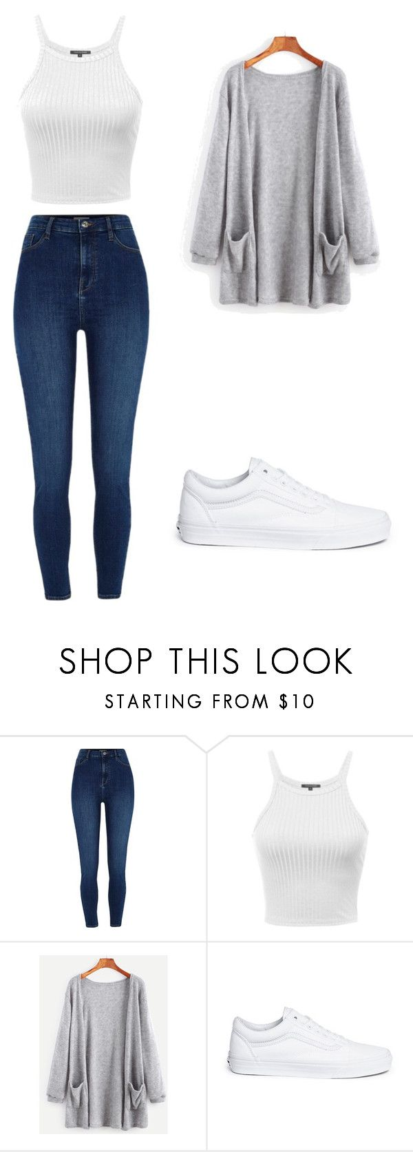 """Untitled #141"" by kaylagutz on Polyvore featuring River Island and Vans"