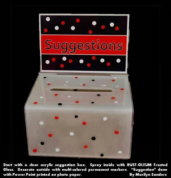 Best 25 Suggestion Box Ideas On Pinterest Romantic