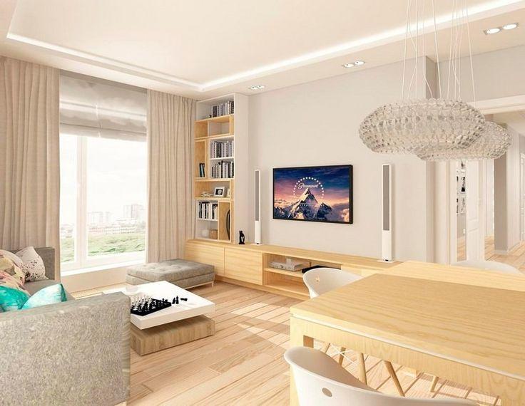 weiße Säulenlautsprecher, die sich nahtlos ins Wohnzimmer einbetten