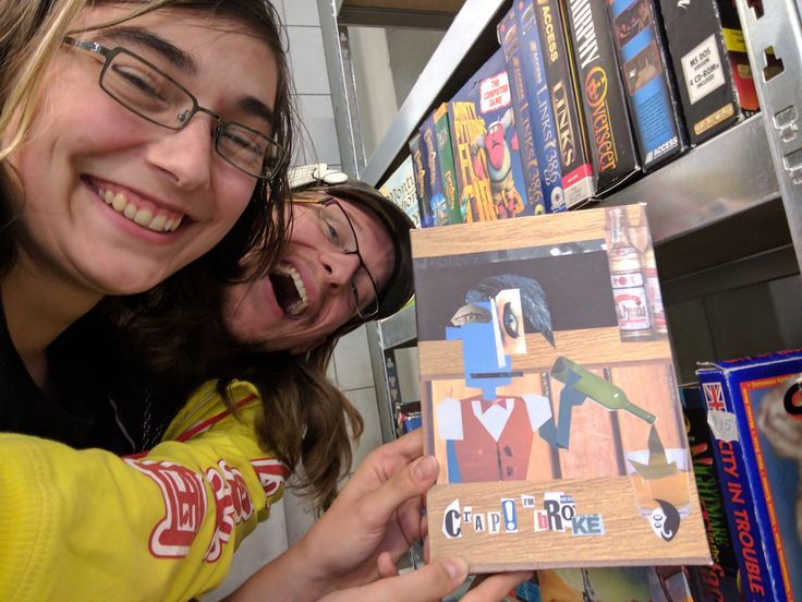 Today we had the honor of helping Anne Bras (AKA PC-King) with his Guinness World Records attempt. Included in his collection is this one-of-a-kind boxed copy of Crap I'm Broke. Long-time fans may recognize this beauty from a Youtuber contest we held yonks ago. Now its in a museum! Wowie!