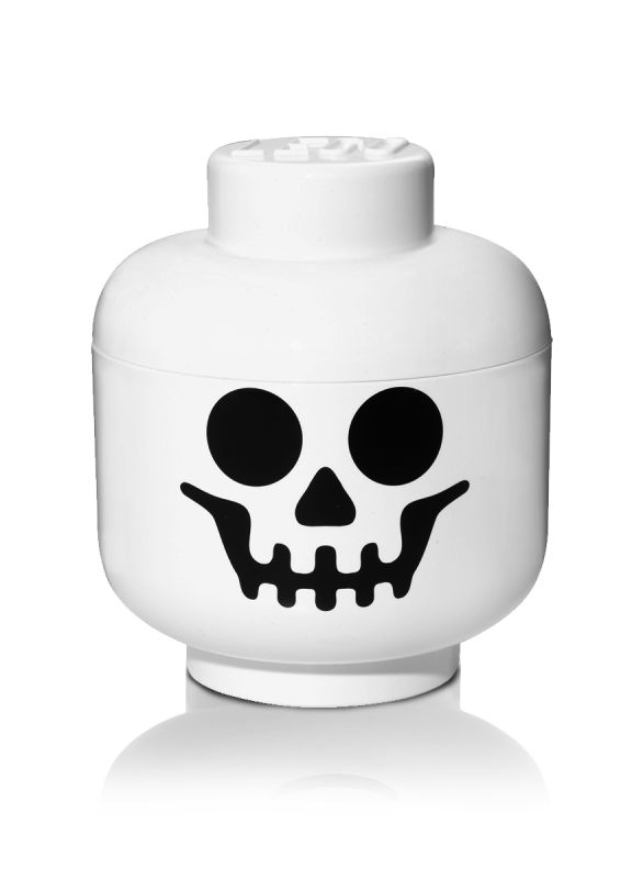 Skull Lego Face Storage Container