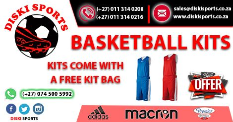 #Basketball #Kits on #Sale, visit www.diskisports.co.za for more...