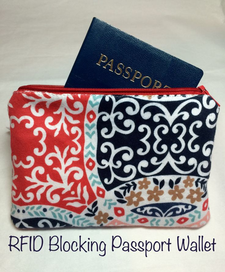 RFID Blocking Passport Credit Debit Card Identification Wallet - Many Designs Available - Stop Credit Card and Identify Theft by 4theloveofoils on Etsy