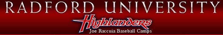 Radford University (Va) Baseball Camp Registration