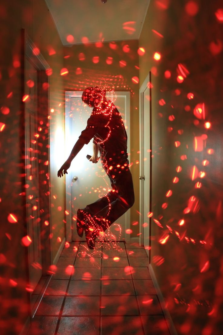 quantum lighting photography. light painting - quantum phycology by dennis calvert lighting photography