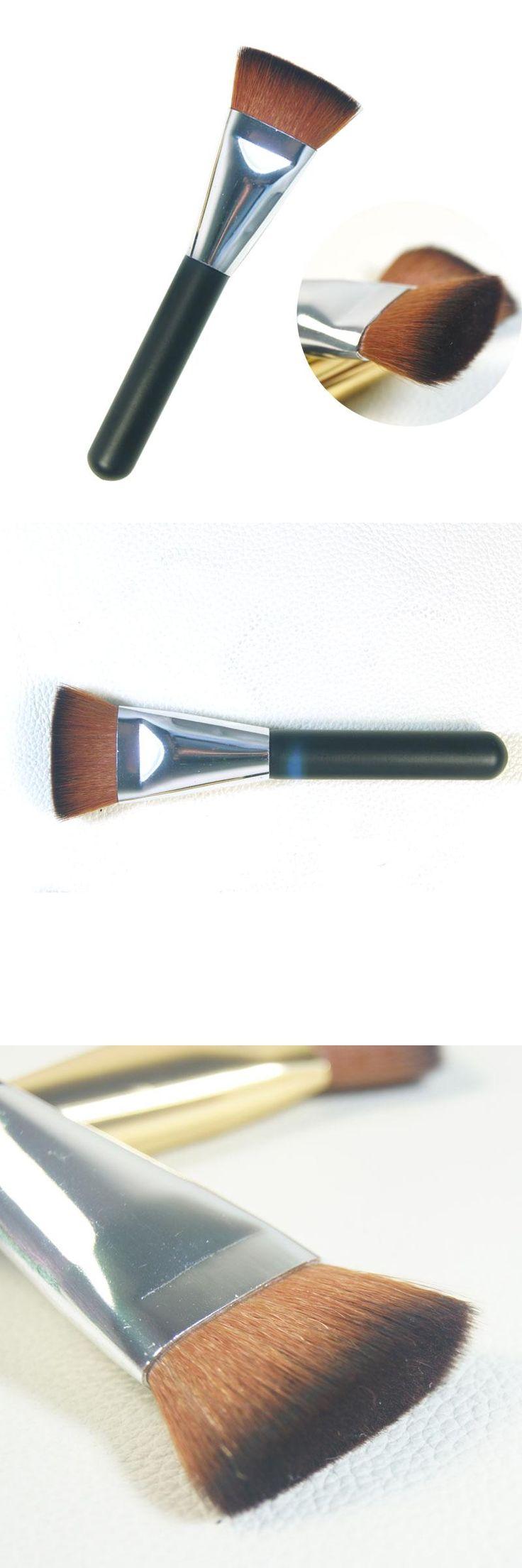 [Visit to Buy] New flat make up brush set contour powder brush set repair face brush for foundation makeup brushes tools women eyebrow blush #Advertisement