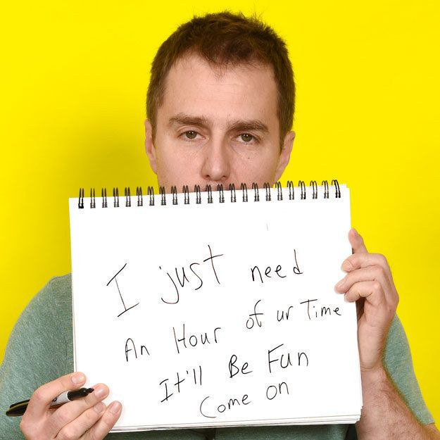 8. Scientology: | Sam Rockwell's Opinion On 56 Completely Random Things