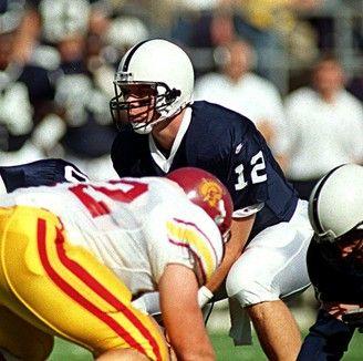 Former Penn  State quarterback Kerry Collins.