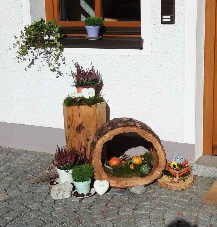 Herbstdeko Easter Day Vorgarten Ideen Vorgarten Herbst Dekoration