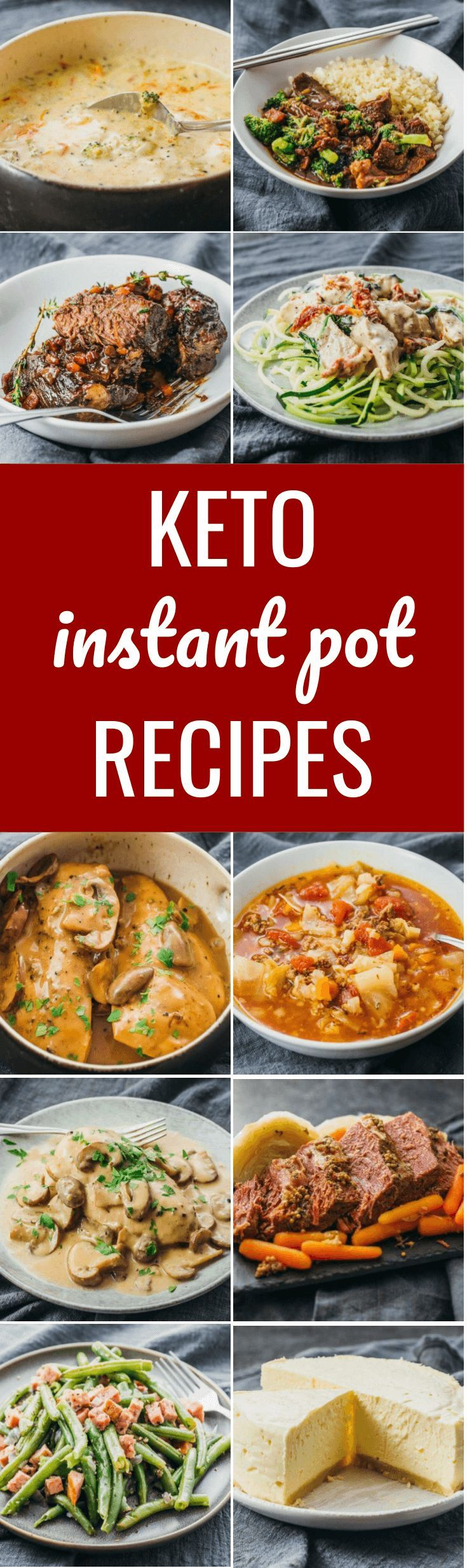 Collection Of Keto Amp Low Carb Instant Pot Recipes Lowcarb Keto Instantpot Chicken Soup